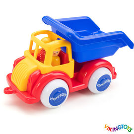 Vikingtoys Viking Toys - Grote kiepvrachtwagen in doos