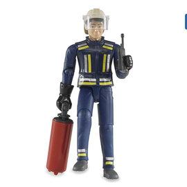 Bruder Bruder brandweerman 10,7 cm met accessoires