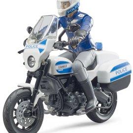 Bruder Bruder bworld Ducati Scrambler politiemotor