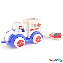 Vikingtoys Vikingtoys Grote Ambulance