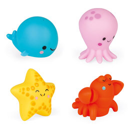 Janod Janod badspeelgoed - spuitfiguren zeedieren
