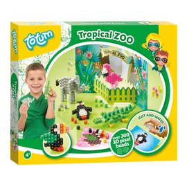 Totum Totum Tropical Zoo knutselset