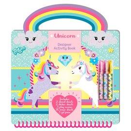 Totum Totum Unicorn Designer activiteitenboek