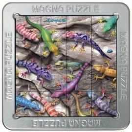Overige puzzels 3D Magna puzzel - Gekko (16 stukjes)