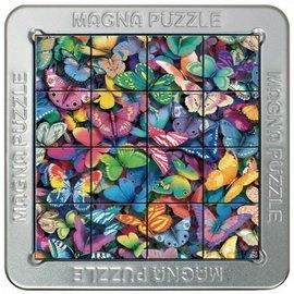 3D Magna puzzel - Vlinders (16 stukjes)
