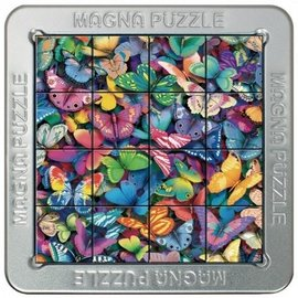Overige puzzels 3D Magna puzzel - Vlinders (16 stukjes)