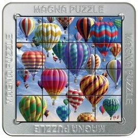 3D Magna puzzel - Luchtballonnen (16 stukjes)