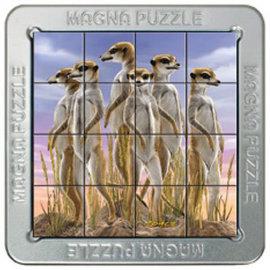 3D Magna puzzel - Meerkatten (16 stukjes)