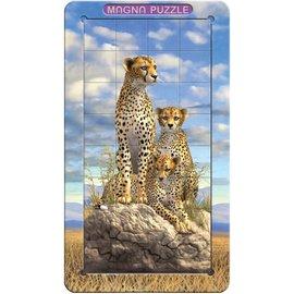 3D Magna puzzel - Cheetahs (32 stukjes)