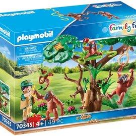 Playmobil Playmobil - Orang-Oetans in de boom (70345)
