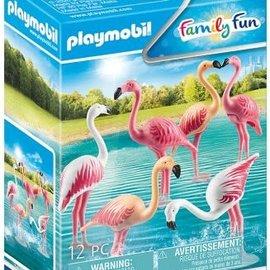 Playmobil Playmobil - Zwerm flamingo`s (70351)