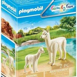 Playmobil Playmobil - Alpaca met baby (70350)
