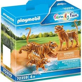 Playmobil Playmobil - Tijgers met baby (70359)