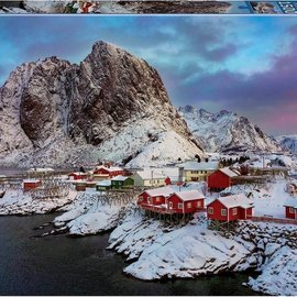 Educa Educa puzzel Lofoten Islands, Norway (1500 stukjes)