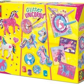 SES SES Glitter Eenhoorns Knutselset 3 in 1
