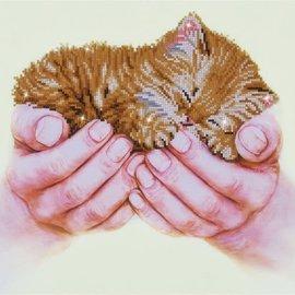 Diamond Dotz Diamond Dotz Precious Kitten 60 x 48 cm