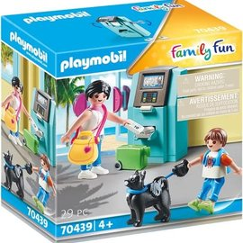 Playmobil Playmobil - Vakantieganger met geldautomaat (70439)