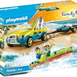 Playmobil Playmobil - Strandwagen met kano's (70436)