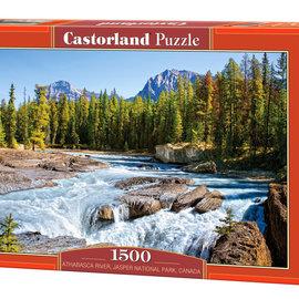 Castorland Castorland puzzel Athabasca River, Jasper National Park, Canada (1500 stukjes)