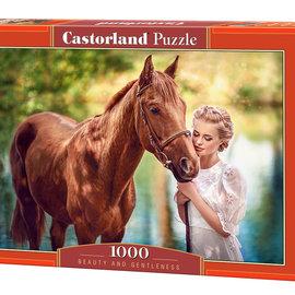 Castorland Castorland puzzel Beauty and Gentleness (1000 stukjes)