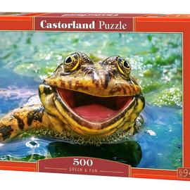 Castorland Castorland puzzel Green and Fun (500 stukjes)
