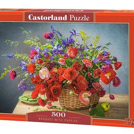 Castorland Castorland puzzel Bouguet with Poppies (500 stukjes)