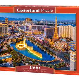 Castorland Castorland puzzel Fabulous Las Vegas (1500 stukjes)