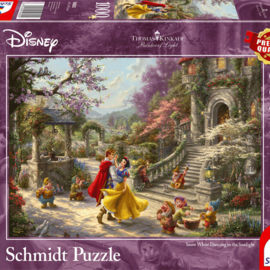 Schmidt Schmidt puzzel Disney Snow White Dancing in the Moonlight (1000 stukjes)