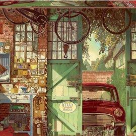 Educa Educa puzzel Old Garage, Arly Jones (1500 stukjes)