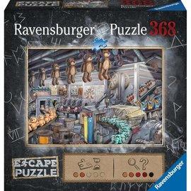 Ravensburger Ravensburger Escape puzzel Speelgoedfabriek (368 stukjes)