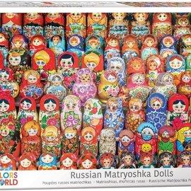 Eurographics Eurographics puzzel Russische Matroesjka poppetjes (1000 stukjes)