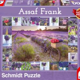 Schmidt Schmidt puzzel De geur van Lavendel (1000 stukjes)