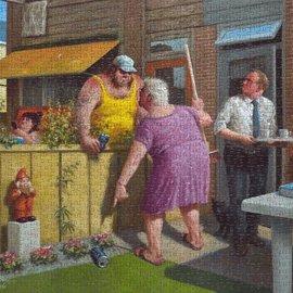 Art Puzzel Marius van Dokkum puzzel - De druppel (1000 stukjes)