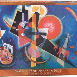 Eurographics Eurographics puzzel In Blue - Wassily Kandinsky (1000 stukjees)(