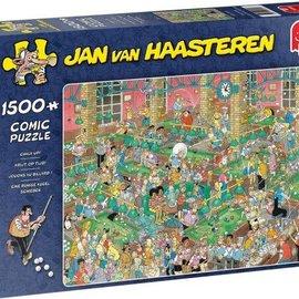 Jumbo Jan van Haasteren puzzel - Krijt op tijd (1500 stukjes)