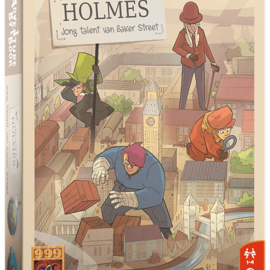 999 Games 999 games Adventure by book: Sherlock Holmes, jong talent van baker street