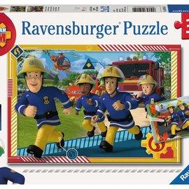 Ravensburger Ravensburger puzzel Brandweerman Sam (2 x 12 stukjes)