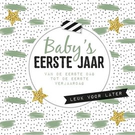 Boek Baby's eerste jaar- van de eerste dag tot de eerste verjaardag