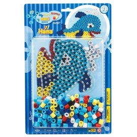 Hama Hama Strijkkralenset Maxi - Dolfijn (250 stuks)