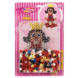 Hama Hama Strijkkralenset Maxi - Prinses (250 stuks)