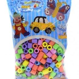 Hama Hama Strijkkralenmix Maxi - Pastel (500 stuks)