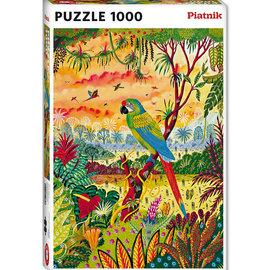 Piatnik Piatnik puzzel Great Green Macaw (1000 stukjes)
