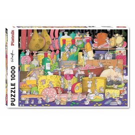 Piatnik Piatnik puzzel Supervised Feast (1000 stukjes)