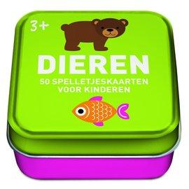 50 spelletjeskaarten voor kinderen - Dieren