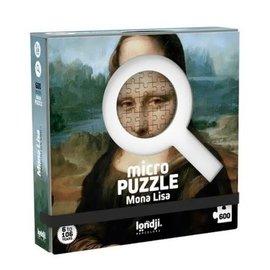 Londji Londji Micro puzzel - Mona Lisa (600 stukjes)