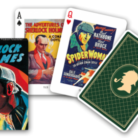Piatnik Piatnik  Speelkaarten - Sherlock Holmes