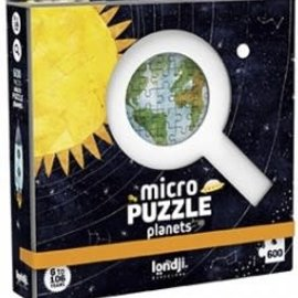 Londji Londji Micro puzzel - Planets (600 stukjes)