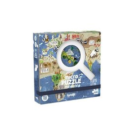 Londji Londji Micro puzzel - The World (600 stukjes)