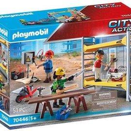 Playmobil Playmobil - Stelling met werklieden (70446)