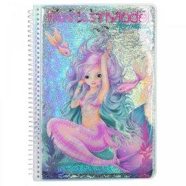 TopModel Fantasy Model kleurboek MERMAID